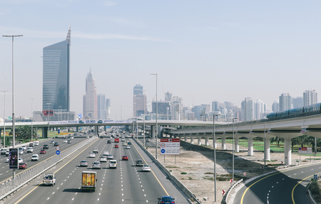 persian gulf: Dubai,UAE. February 3rd, 2015.  It is the most populous city in the United Arab Emirates. It is located on the southeast coast of the Persian Gulf Editorial