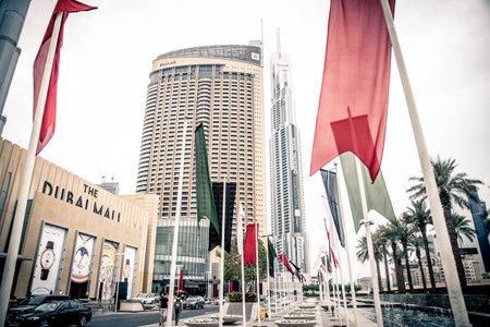 outoors: Arabic businessmen in Dubai Editorial