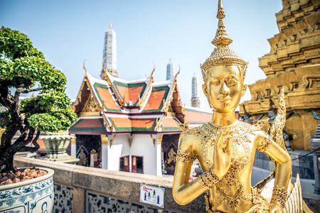 グランド パレス バンコク, タイ. 写真素材