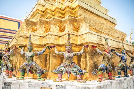 バンコクのグランドパレス、タイ。 報道画像