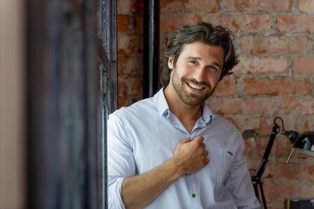 Portrait of handsome man Stock fotó