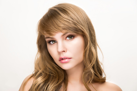 Beauty portrait for make up and skin care