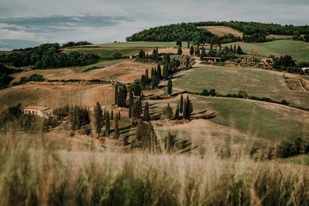 美しいトスカンの風景 写真素材