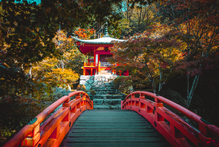 Daigoji temple in Kyoto, japan Редакционное