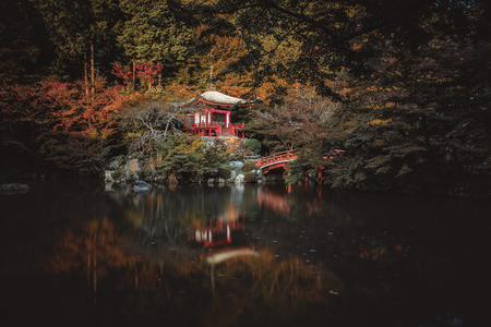 Daigoji temple in Kyoto, japan Editorial