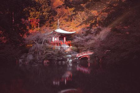 Daigojitempel in Kyoto, Japan Redactioneel