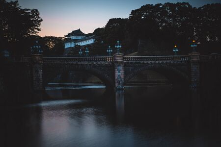 Edo castle imperial palace in Tokyo Stock Photo - 94784588