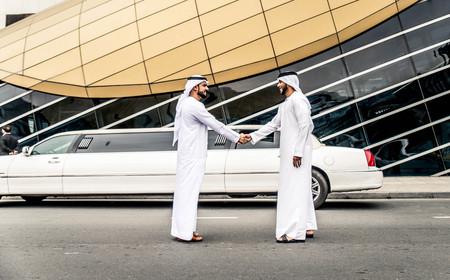 Arabic businessmen in Dubai 写真素材
