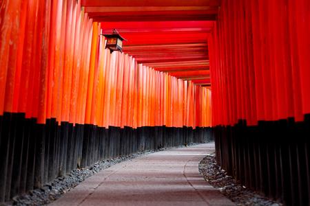 Fushimi Inari shrine in Kyoto, Japan