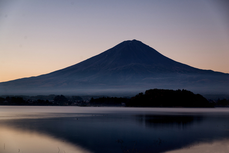 Mount Fuji and natural landscape