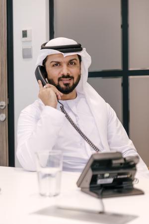 Businessmen portrait in Dubai
