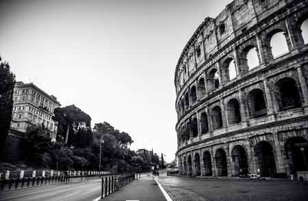 Colosseum in Rome Banque d'images - 105805273