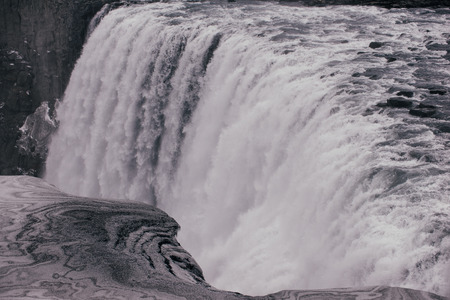 Dettifoss waterfall in the northern part of iceland