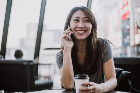Beautiful japanese woman portrait