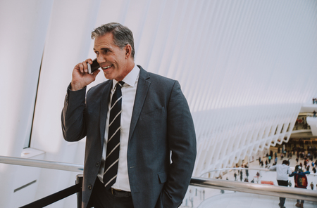 Successful business man in New york city, portraits and lifestyle Stock Photo - 114121190