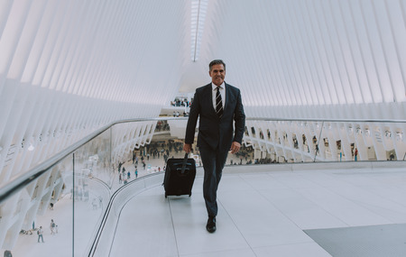 Successful business man in New york city, portraits and lifestyle