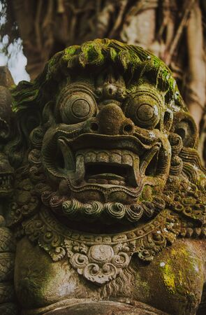 Bali and ubud typical monuments in balinese style 스톡 콘텐츠