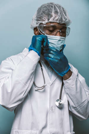 2020 heroes. Image with medical staff, nurses and doctors. Concept about health care and medicine Archivio Fotografico - 157975662