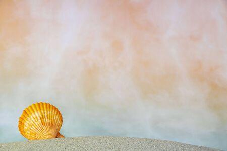 summer sea simple props photography Foto de archivo