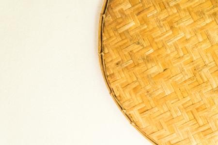 foodstuffs: Bamboo threshing circle made in Thailand  Keep the foodstuffs and general use