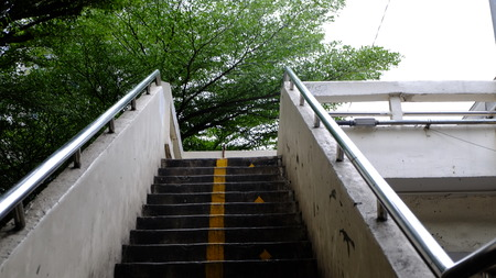 footbridge Stockfoto