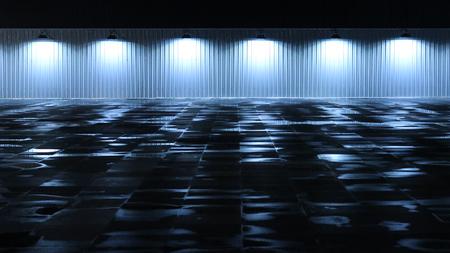 Blue Light Stockfoto