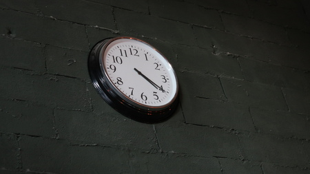 Clock in the Wall
