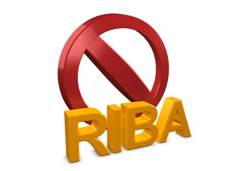 3d image, conceptual islamic finance, Riba-means usury and is forbidden in Islamic economic jurisprudence