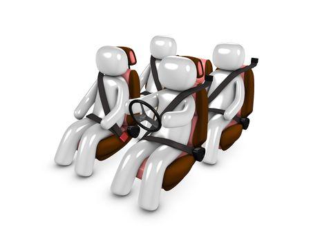 3d image, conceptual passenger safety