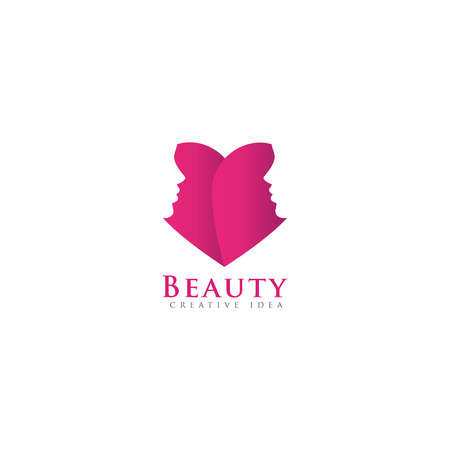 Unique Beauty Logo Design template and vector