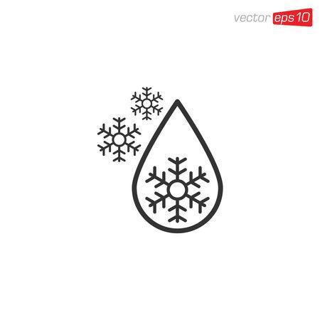 Ice Icon Design Vector Illustration