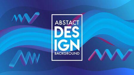 Abstract Blend Background Design Template, Purple, Violet, Blue Banque d'images - 129786926