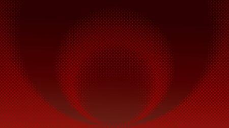 Dark Maroon Halftone Background Design Template, Pop Art, Abstract Ellipse Dots Pattern Illustration, Vintage Texture Element Illusztráció