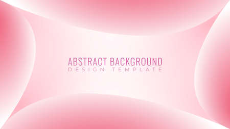 Colorful Soft Abstract Background Design Template. Beautiful Pinky Frame Vector Illustration. Soft Baby Pink Color Theme. 向量圖像