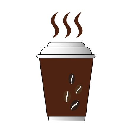 cup coffee icon vector illustrator