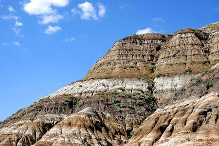 hoodoos: Hoodoos, Dinosaur Provincial Park in Albertas badlands, around Drumheller, Alberta