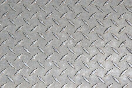 piastra acciaio: Un grande foglio di lamiera senza un po 'logoro e graffiato di alluminio o di nichel o di diamante del battistrada.