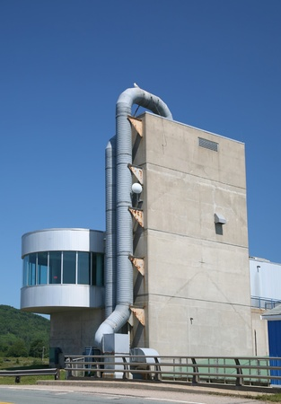 The Annapolis Royal Generating Station is a 20 MW tidal power station located on the Annapolis River, Nova Scotia and is the only tidal generating station in North America.  20 MW tidal power station harnesses the tidal difference created by the large tid