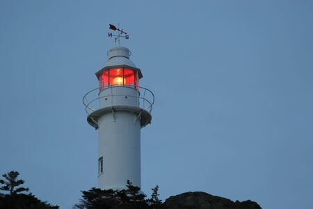 nfld: Lighthouse in Lobster Cove (near Rocky Harbour) in Gros Morne National Park, Newfoundland, Canada. Editorial