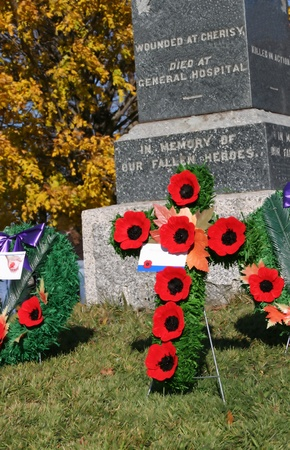 first day: Remembrance Day Memorial, Canada