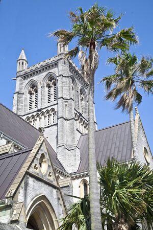 anglican: Anglican cathedral in Hamilton, Bermuda