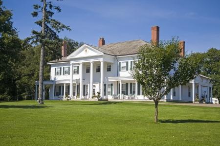 luitenant: Gebouwd in 1832, Government House kennen als Fanningbank is de officiële residentie van de luitenant-gouverneur van Prince Edward Island