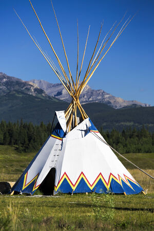 tepee: Authentic tepee from Native North Americans