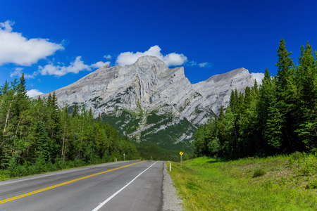 View from the Kananaskis area of rural Alberta, Canada.