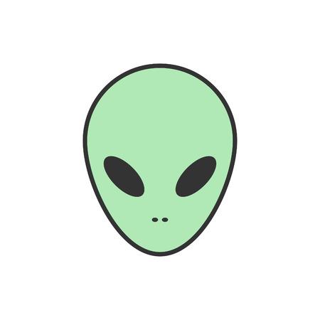 alien conceptual space Illustration