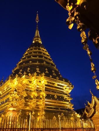 golden: golden pagoda Stock Photo