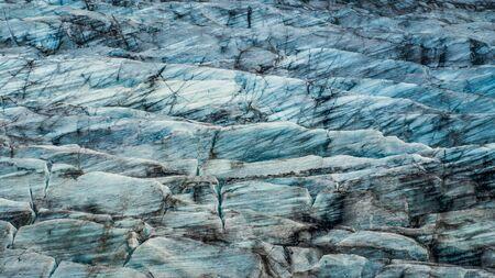 View of deep blue huge ice floes in the Fjallsárlón Glacier. Iceland in summer, Europe. Reklamní fotografie
