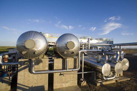 Gas pipeline compression equipment