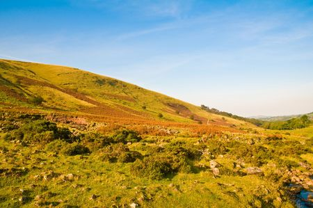 ramble: The stunning scenery of the Brecon Beacons National Park in Wales, UK. Stock Photo