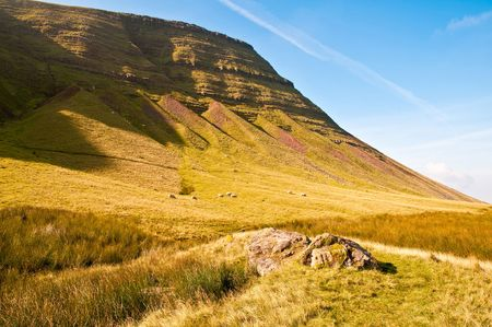 Part of the stunning scenery to be found in the Brecon Beacons in Wales, UK.